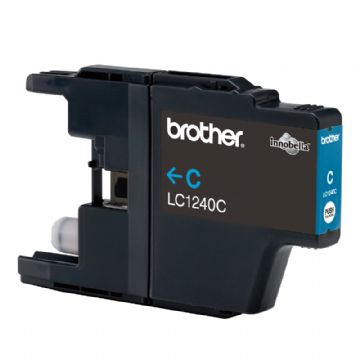 Brother LC1240C Cyan Refurbished Ink Cartridge (LC-1240C Inkjet Printer Cartridge)